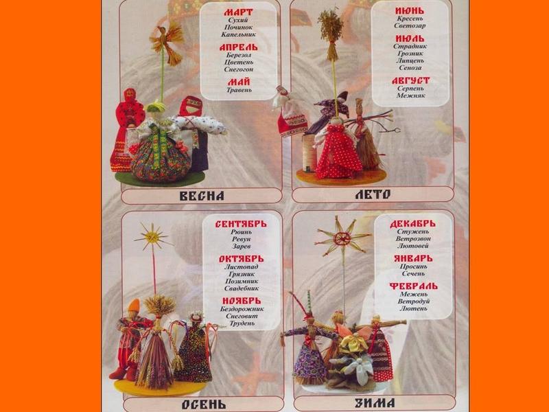 Календарь для кукол своими руками